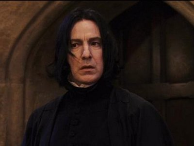 On LiveJournal, Snape gets more ass than a toilet seat.